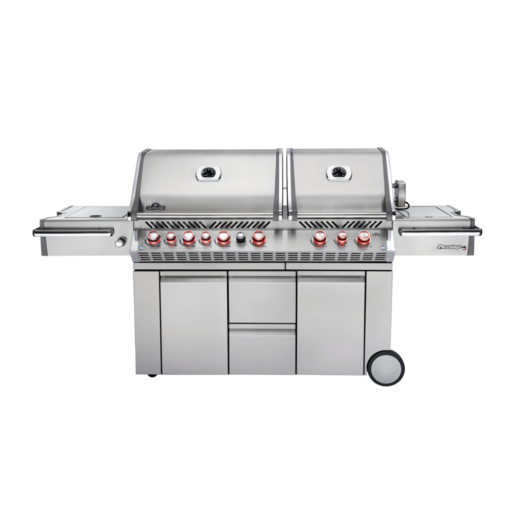 NAPOLEON PRESTIGE PRO825 STAINLESS STEEL GAS GRILL