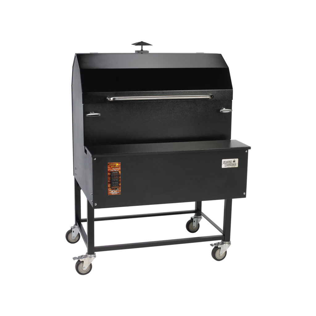 SMOKIN' BROTHERS G072P PREMIER LIGHT COMMERCIAL PELLET GRILL
